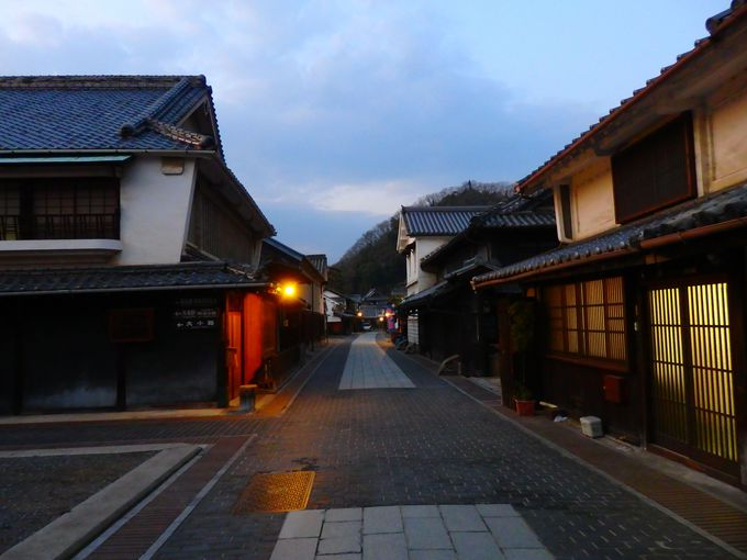 安芸の小京都は夜こそ幻想的!竹原で江戸時代へと時空旅行