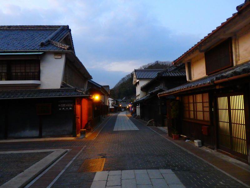 安芸の小京都は夜こそ幻想的!竹原で江戸時代へと時空旅行。