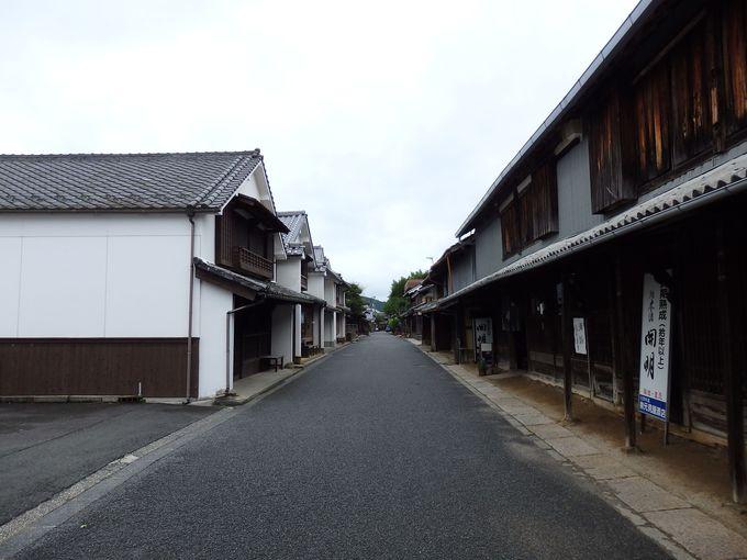 伝統的建造物群保存地区の美しい町、卯之町