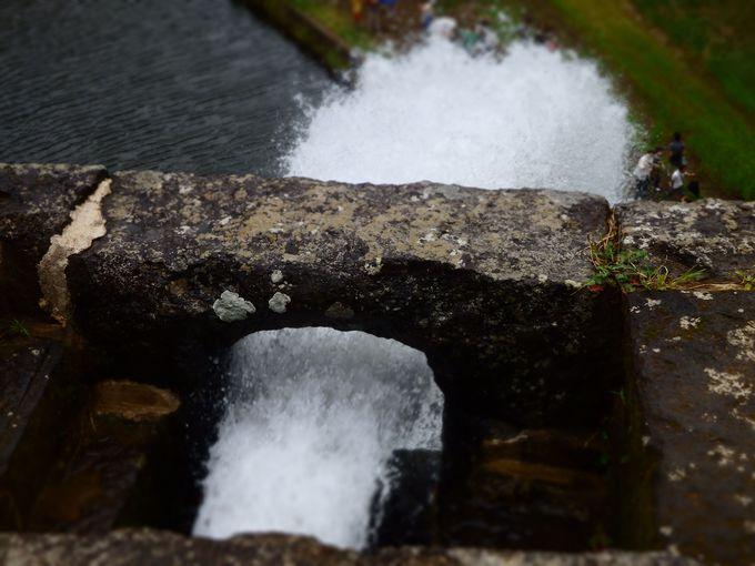 まずは出発前に通潤橋の放水スケジュールを確認!