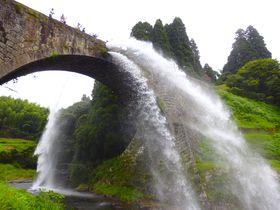 絶景時間はほんの一瞬。熊本・通潤橋は放水シーンを狙え!