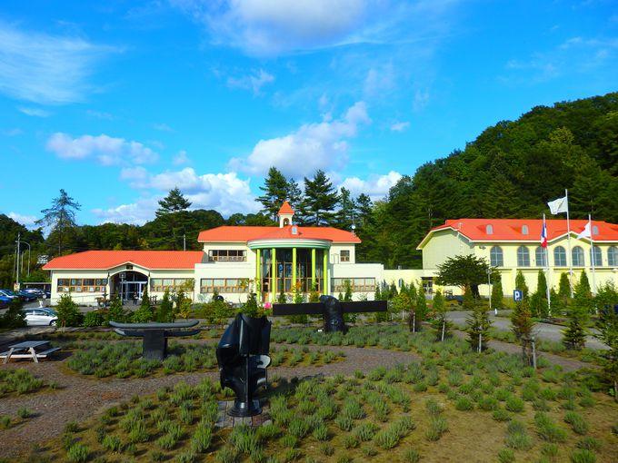 美術館の前身は、その名も「太陽小学校」
