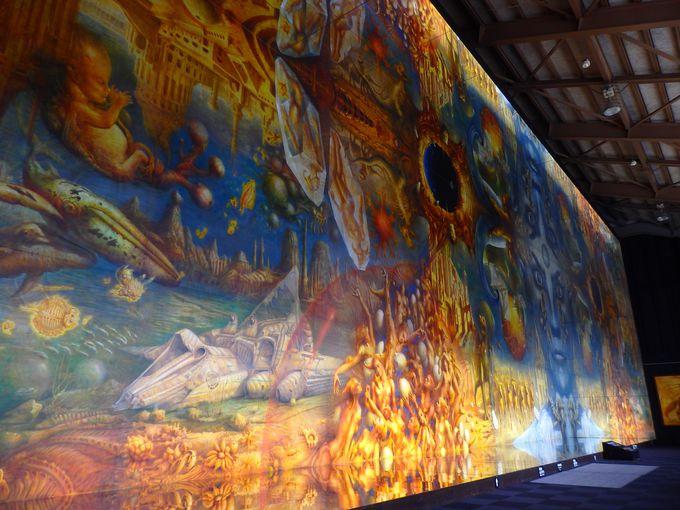 世界最大の油彩画には、さらなるからくりが