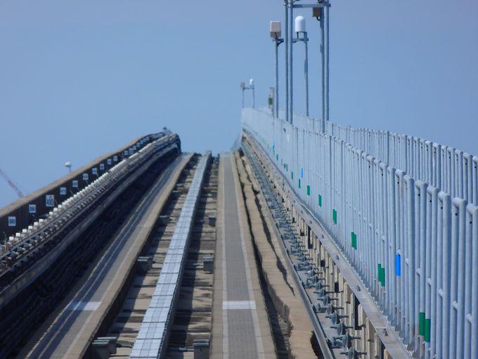 扇大橋&首都高越えが東京空中散歩のハイライト