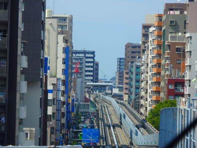 東京空中散歩は、ぜひ最前列の特等席で