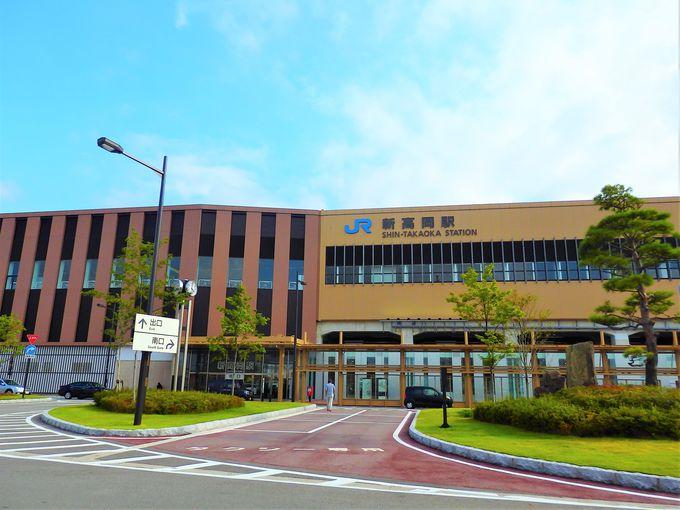 高岡おとぎの森公園は、北陸新幹線 新高岡駅の近く