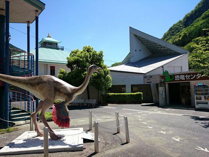 恐竜王国の中心的施設「神流町恐竜センター」