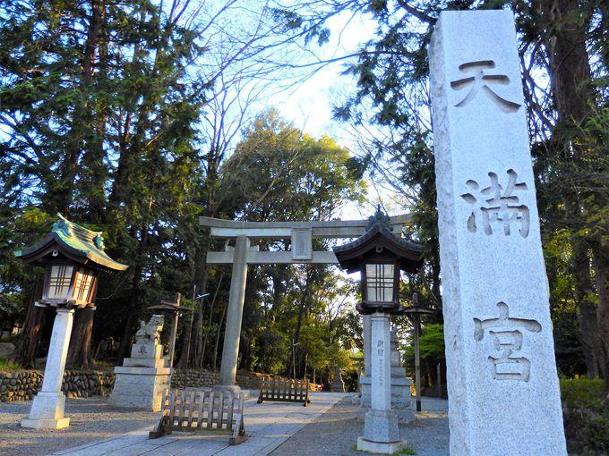 谷保天満宮や武蔵国分寺跡など、武蔵野歴史めぐりも