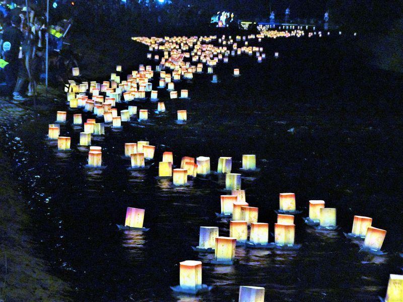 永平寺大燈籠流しは、夏の終わりのちょっとせつないお祭り