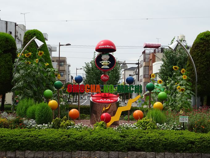 星宮神社は「おもちゃのまち」とセットでの観光もおススメ
