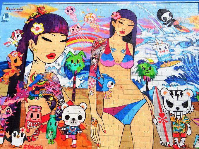 カカアコのウォールアートはPOW! WOW! HAWAIIがきっかけ