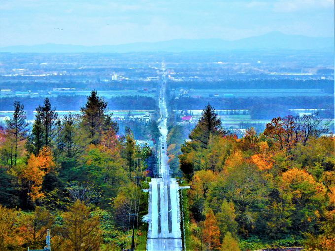 北海道絶景ドライブロード#3 「天に続く道」