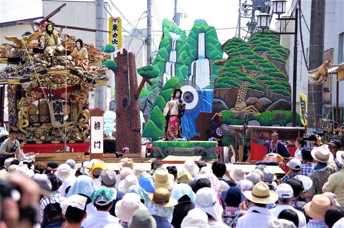 烏山「山あげ祭」の由来と見どころ