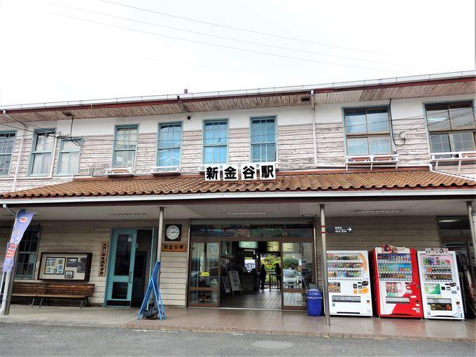 1日目午前:大人の大井川鐵道は、SL乗車前の新金谷駅から