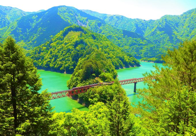 2日目:南アルプスあぷとラインで奥大井湖上駅絶景展望所へ