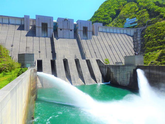 2日目午後:長島ダムで日本一の急勾配とアプト式列車を見学