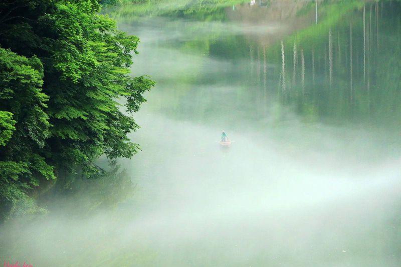 これは夢か幻か?奥会津「霧幻峡の渡し」は美しく儚き幻想体験