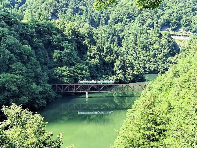 只見線撮影地#4&5 只見川第3橋梁と只見川第4橋梁