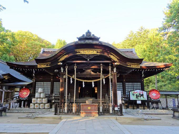 甲府周辺観光1日目午前:武田神社で甲斐の英雄、信玄詣でを