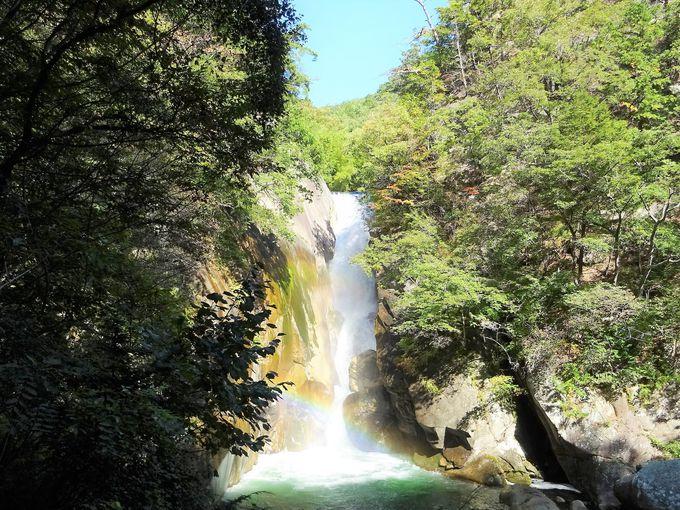 甲府周辺観光1日目午後:昇仙峡で自然が生みだした渓谷美を