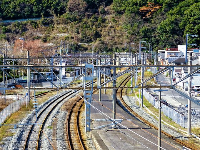 津久見駅は「なごり雪」で君と僕とが汽車を待っていた駅?