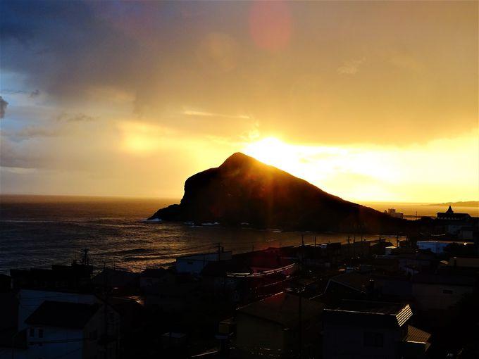 利尻島1周観光 午後&夜:利尻島に宿泊ならではの魅力も