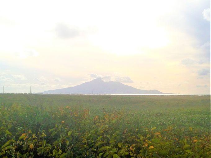 午前:稚内観光絶景ポイント!宗谷本線から利尻富士を拝む