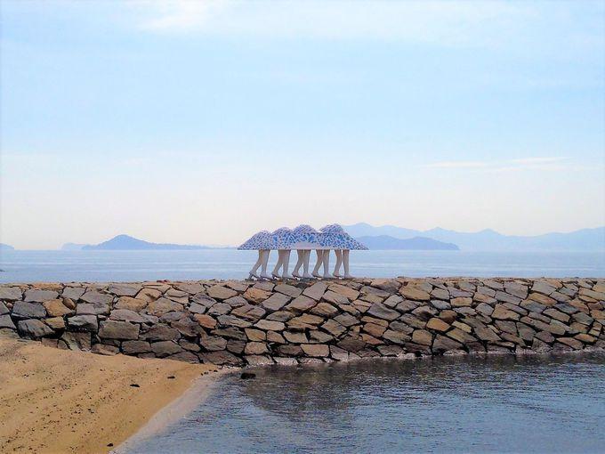 3日目:高松周辺の2つの小島、女木島・男木島へ