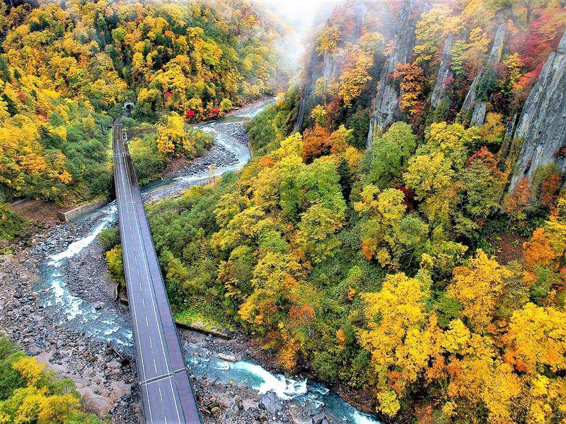 大雪山国立公園の旭岳や天人峡の大自然&温泉も東川町