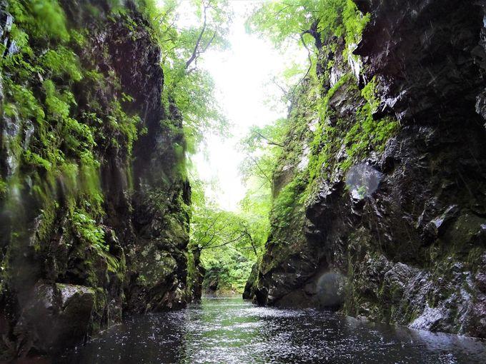 絶景「三淵渓谷通り抜け参拝」は高千穂峡よりも神秘的?