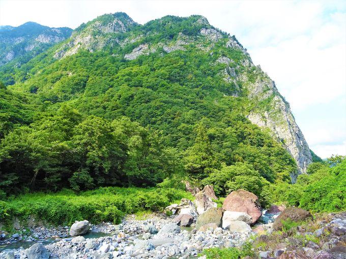 1.小滝川ヒスイ峡