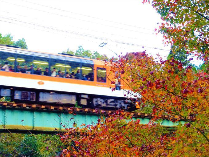 叡山電車は京都洛北を走る登山鉄道
