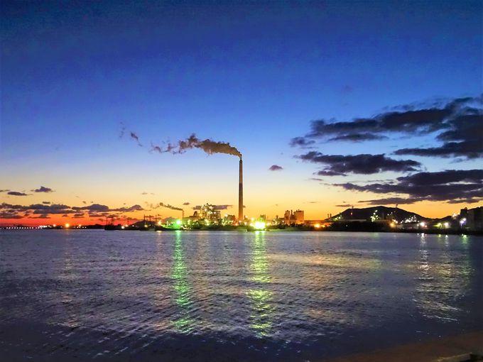周南工場夜景観賞はプライベートツアーも充実