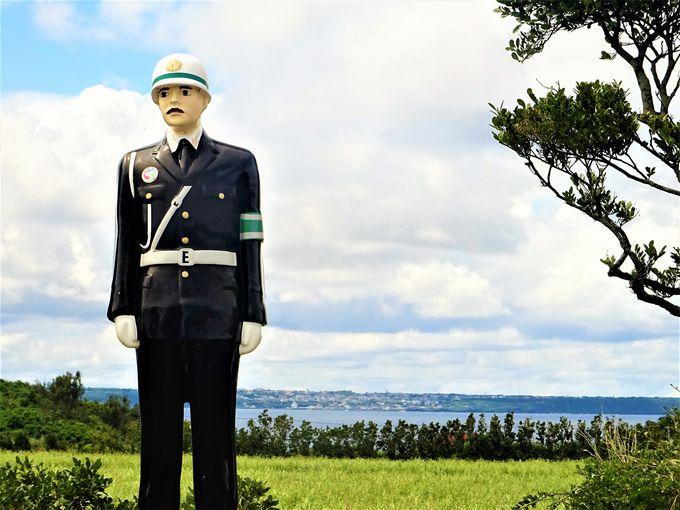 宮古島の誇るリゾート地にも「まもる君」
