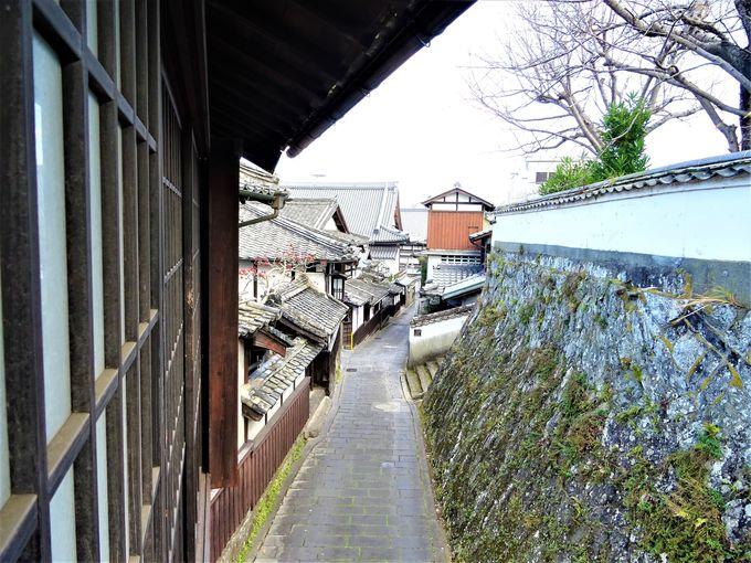 臼杵まちなかハイライト二王座歴史の道と旧真光寺