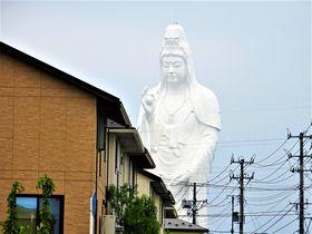 住宅街からこんにちは!仙台大観音が美しきラスボスすぎる?