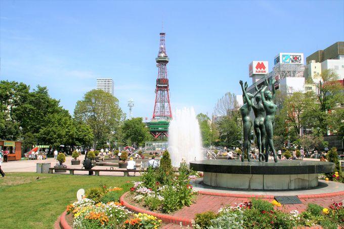 北海道の中心、札幌・小樽ももちろん登場