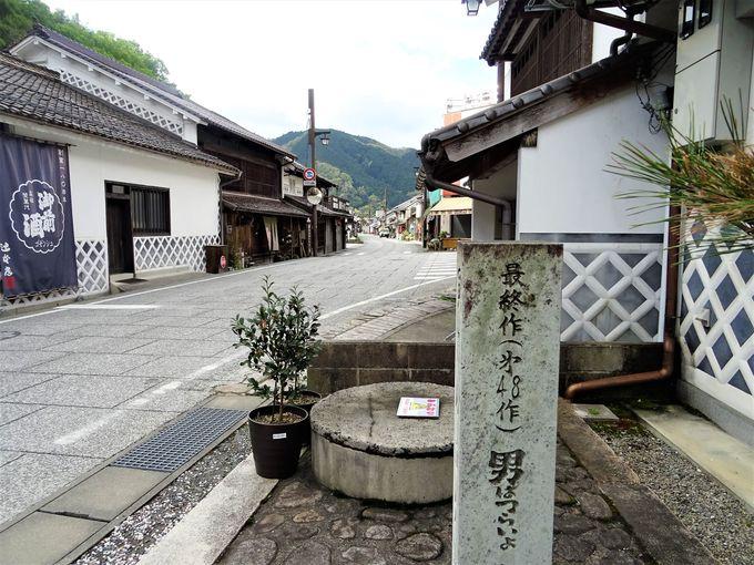 中国山地の小さな町「勝山」にも寅さんが登場