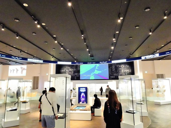 ウポポイの中核施設「国立アイヌ民族博物館」