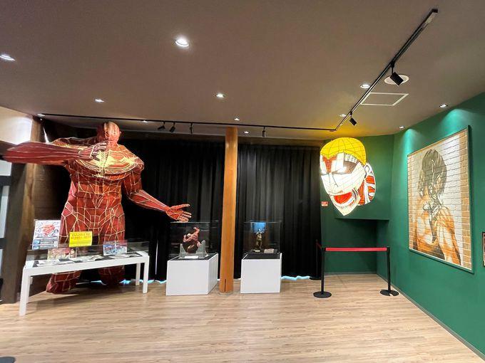 え、これが無料?「進撃の巨人 in HITA ミュージアム」