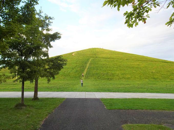 中級コース:モエレ沼公園や羊ヶ丘展望台もサイクリングで!