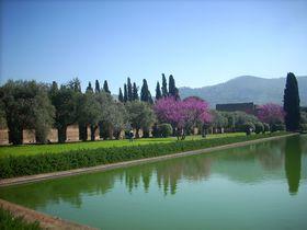 遺跡と自然の美しい融合例、世界遺産ヴィッラ・アドリアーナ