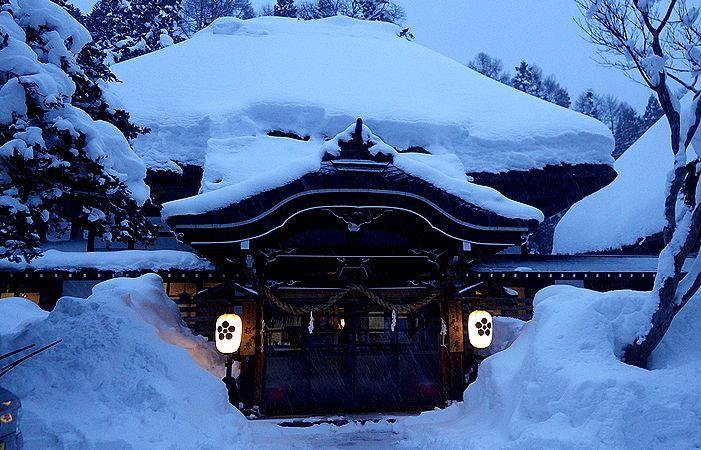 長野・戸隠のそば宿「宿坊極意」〜築200年葺ぶき屋根の宿