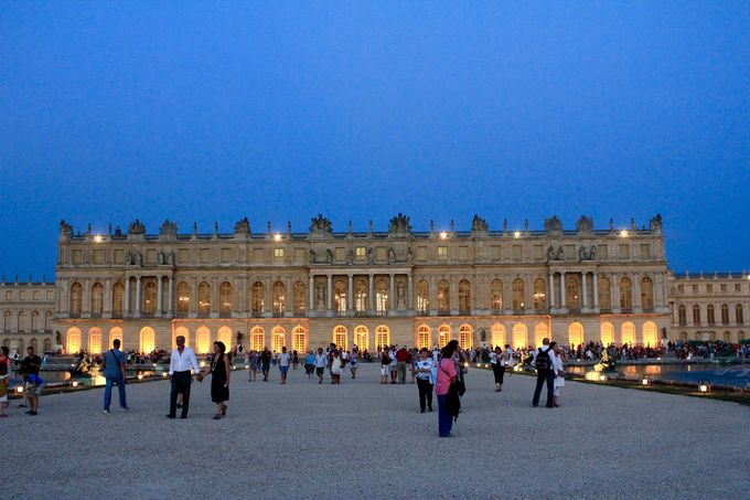 夏の夜 ヴェルサイユ宮殿を楽しむ!