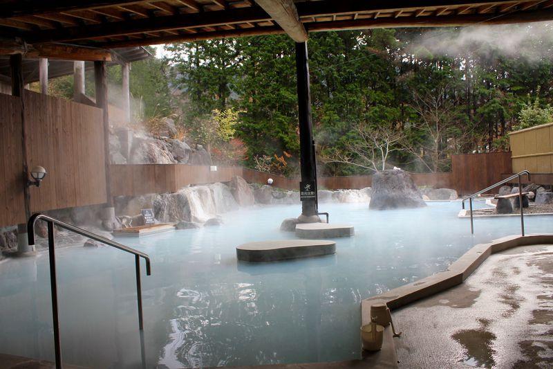 由布院の温泉付き別宅でゆったり過ごす至福の時