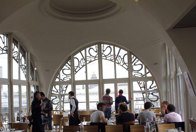 楽器博物館の最上階のレストランもお勧め!