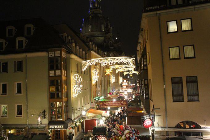 他にも魅力的なクリスマスマーケットが立ち並びます