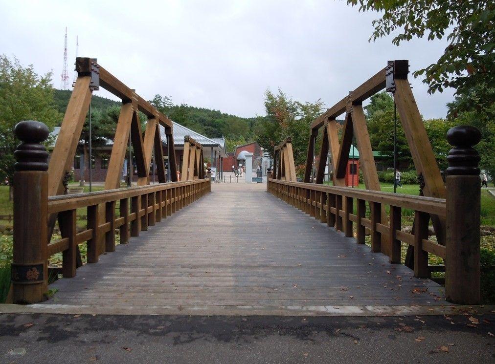 「鏡橋」で自分の姿を映してみよう!