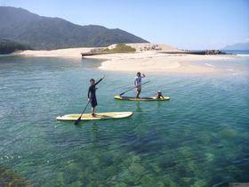 登山だけじゃない!SUPで楽しむ世界遺産・屋久島の水上散歩