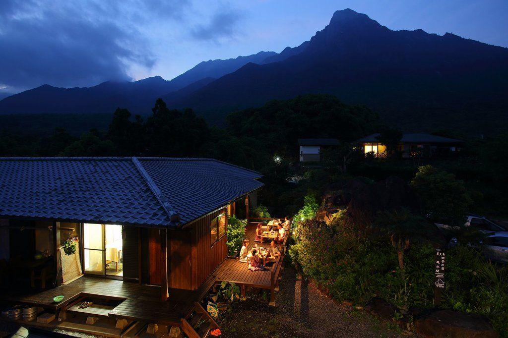 屋久島で泊まりたい!モッチョム岳の麓「四季の宿 尾之間」